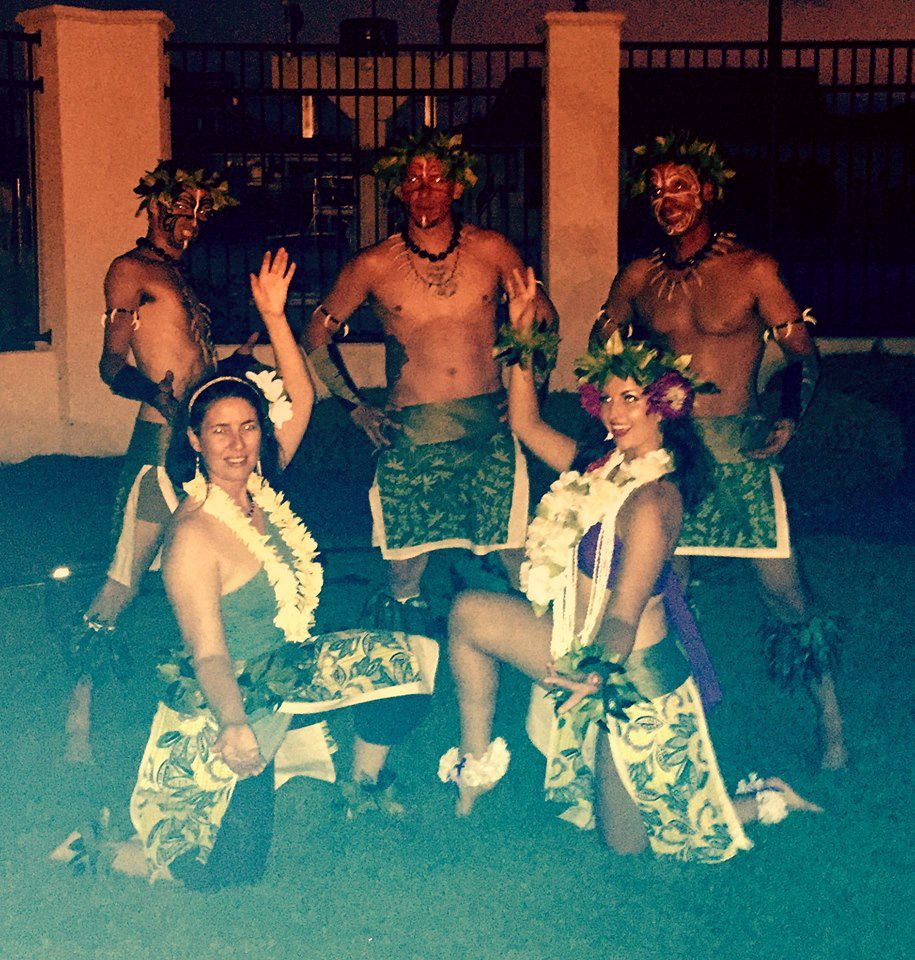 Island Style Fire & Hula Shows